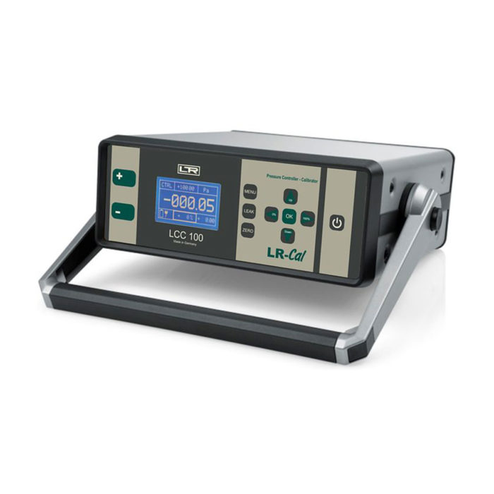 Calibrators and exemplary pressure measuring instruments LCC 100