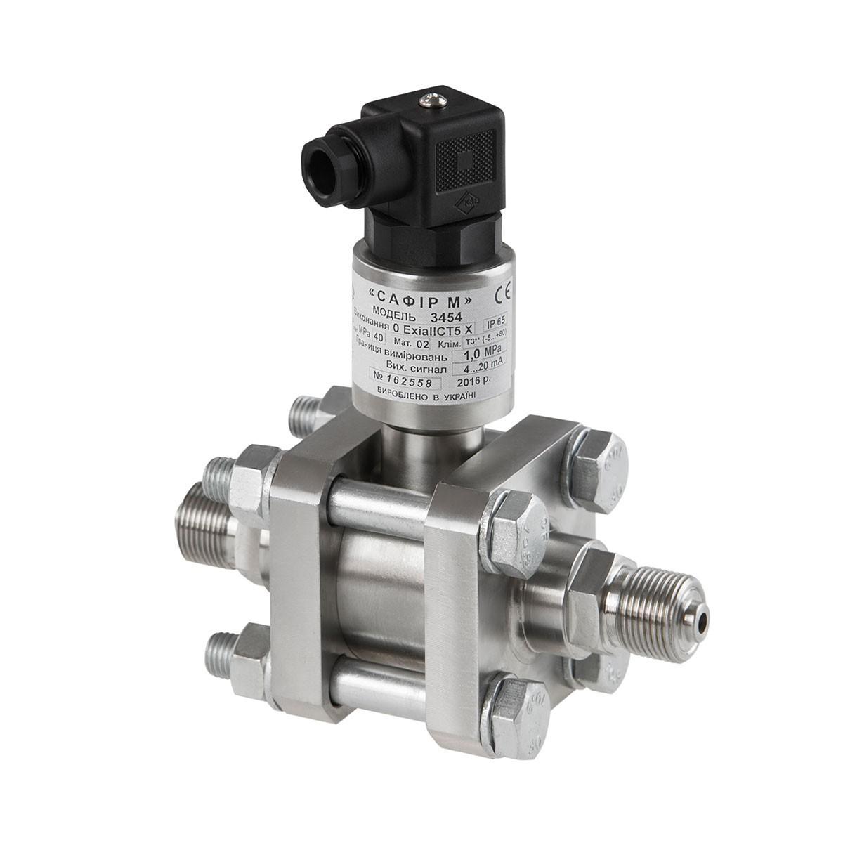 Differential pressure transducers Safir-M 3454