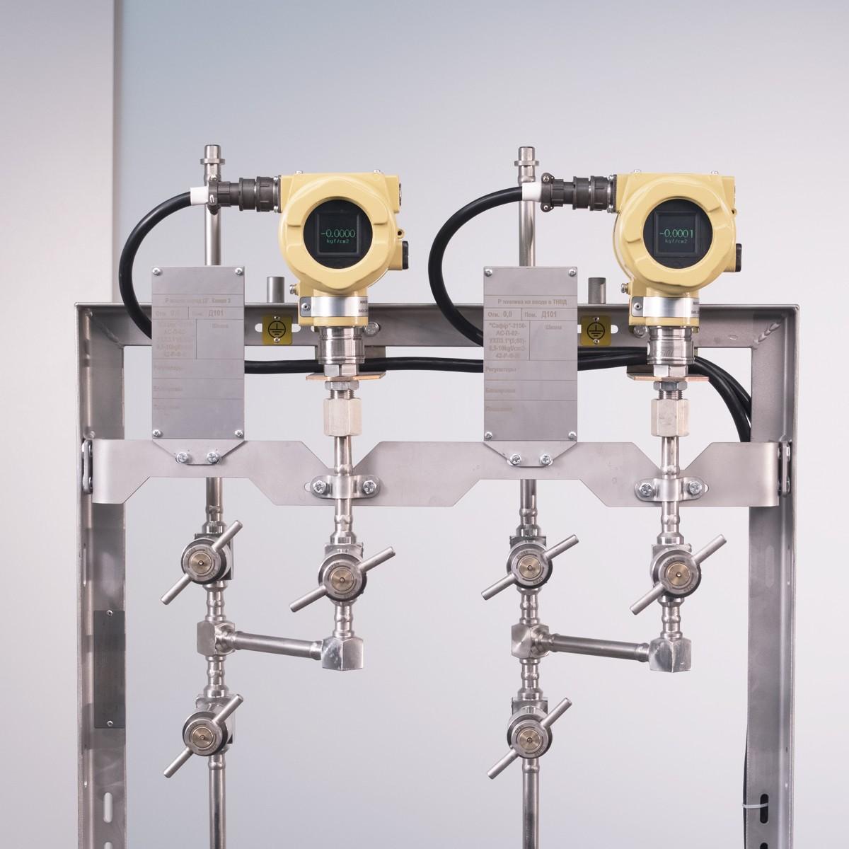 Pressure transmitters' racks